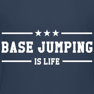 Base Jumping is life T-shirts - Premium-T-shirt tonåring