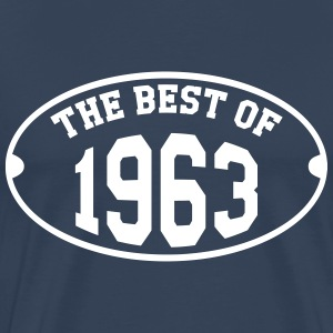 The Best of 1963 T-Shirts - Männer Premium T-Shirt