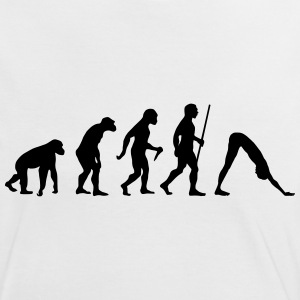 Evolution - Yoga T-Shirts - Frauen Kontrast-T-Shirt