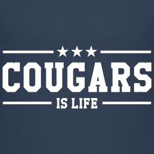 Cougars is life T-Shirts - Teenager Premium T-Shirt