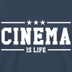 Cinema is life T-Shirts - Men's Premium T-Shirt