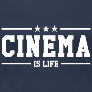 Cinema is life Tee shirts - T-shirt Premium Femme