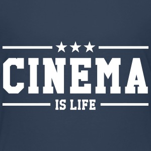 Cinema is life T-Shirts - Teenager Premium T-Shirt