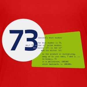 73 the best number BIG BANG - Kinder Premium T-Shirt