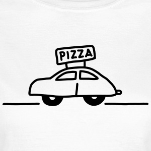 Pizzaservice - Pizza T-Shirts - Frauen T-Shirt