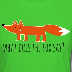 Funny what does the fox say ring ding meme song T-Shirts