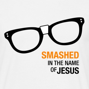Camiseta Hombre OITNB Smashed in the name of Jesus - Camiseta hombre