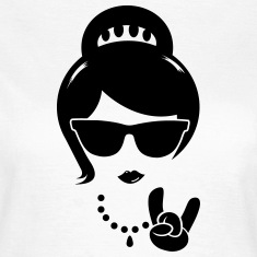Cool swag hipster mère épouse femme boss Tee shirts