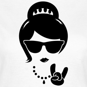 Die Frau mutter swag hipster female party boss T-Shirts - Frauen T-Shirt