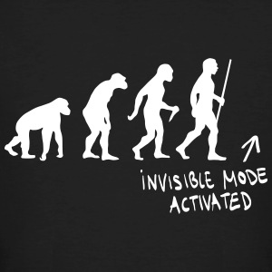 Evolution - Invisible Mode Activated T-Shirts - Männer Bio-T-Shirt