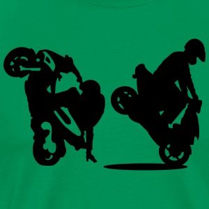 stunt moped T-Shirts - Men's Premium T-Shirt