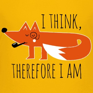 Fuchs Fox Philosophie sprüche geek nerd T-Shirts - Teenager Premium T-Shirt