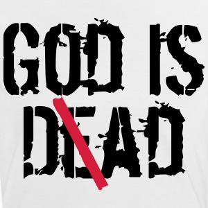 God is D(e)ad - God is Dead vs. God is Dad T-Shirts - Frauen Kontrast-T-Shirt