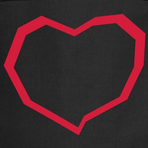 Freaky, Heart, EUshirt - Cooking Apron