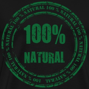 100% Natural T-Shirts - Men's Premium T-Shirt