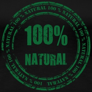 100% Natural T-Shirts - Frauen Premium T-Shirt