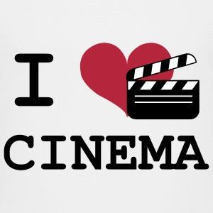 I Love Cinema Shirts - Kinderen Premium T-shirt