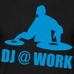 DJ @ Work T-shirts - Herre-T-shirt
