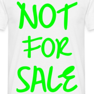 Not for Sale, Eushirt, T-Shirt - Men's T-Shirt