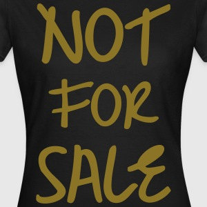 Not for Sale, www.eushirt.com T-Shirts - Frauen T-Shirt