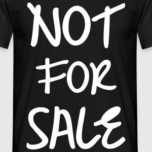 Not for Sale, www.eushirt.com T-Shirts - Mannen T-shirt