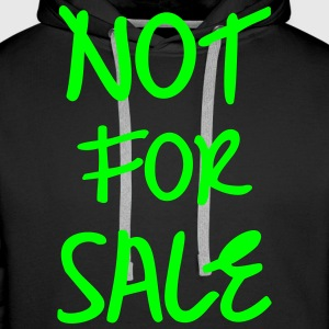 Not for Sale, www.eushirt.com Pullover & Hoodies - Men's Premium Hoodie