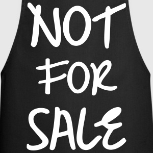 Not for Sale, www.eushirt.com Schürzen - Forklæde