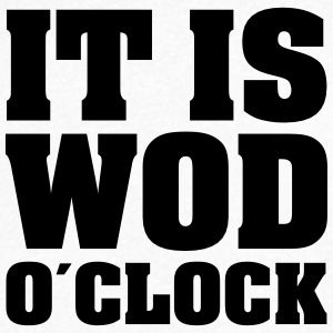 It Is WOD O´Clock Tee shirts - T-shirt Homme col V