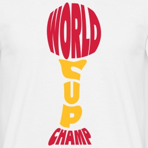 Worldcup Champion T-shirts - T-shirt herr