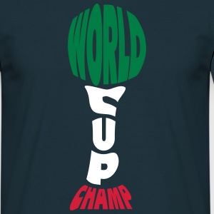 Worldcup Champion T-shirts - Herre-T-shirt