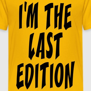 the last edition Shirts - Teenage Premium T-Shirt