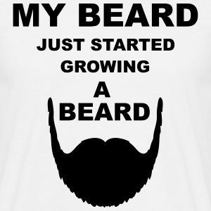 Beard T-Shirts - Men's T-Shirt