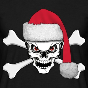 skull happy christmas T-Shirts - Men's T-Shirt