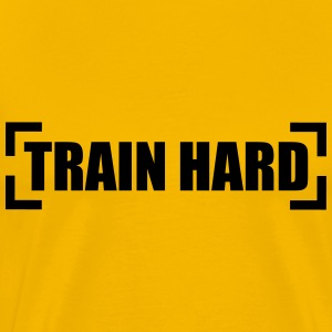 Train Hard Camisetas - Camiseta premium hombre