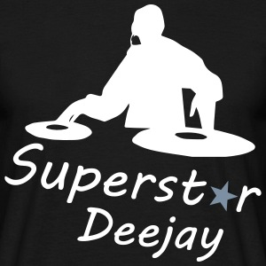 Superstar Dj T-shirts - T-shirt herr