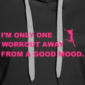 Workout Sweaters - Vrouwen Premium hoodie