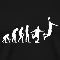 Zoom: Männer Premium T-Shirt mit Motiv Basketball Evolution