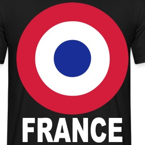 cocarde tricolore france Tee shirts - T-shirt Homme