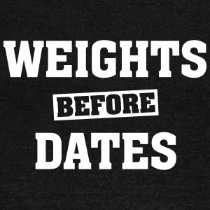 Weights Before Dates Sweat-shirts - Pull Femme col bateau de Bella