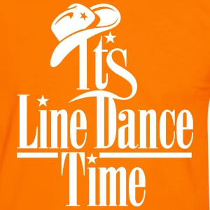 ITS LINE DANCE TIME T-shirts - Mannen contrastshirt