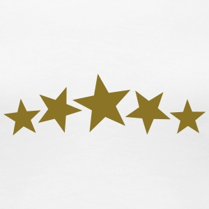 5 Gold Stars, Freestyle, Birthday, Christmas, Gift T-Shirts - Women's Premium T-Shirt