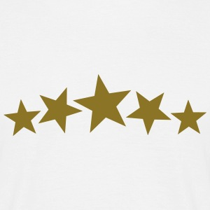 5 Gold Stars, Freestyle, Birthday, Christmas, Gift T-skjorter - T-skjorte for menn