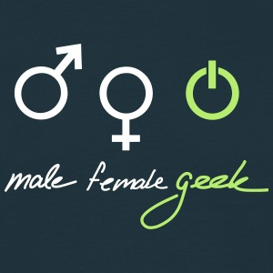 Geek Gender T-shirts - Mannen T-shirt