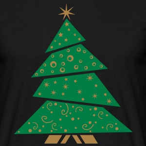 Christmas tree, EUshirt - Mannen T-shirt