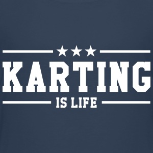 Karting is life Tee shirts - T-shirt Premium Enfant