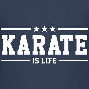 Karate is life T-shirts - Børne premium T-shirt