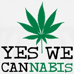 Yes We Cannabis T-shirts - Mannen Premium T-shirt