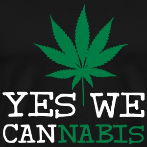 Yes We Cannabis T-skjorter - Premium T-skjorte for menn