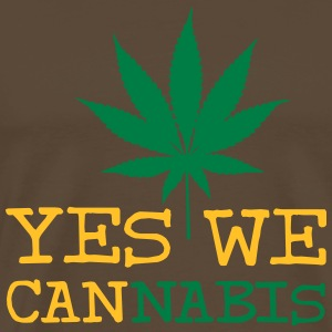 Yes We Cannabis T-Shirts - Männer Premium T-Shirt