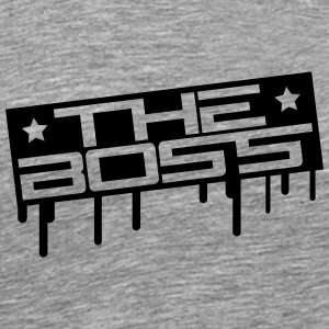 The Boss Stamp T-shirts - Premium-T-shirt herr